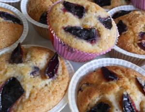 muffin prugne e nocciole