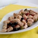 Straccetti di tacchino e olive