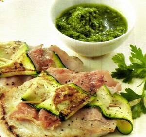 saltimbocca+zucchine