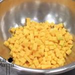 Soufflée al radicchio e zucca gialla