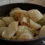 Torta salata con finocchi gratinati