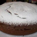 Torta cacao e mandorle